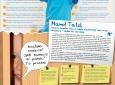 """Plakat """"Złote reguły harmonijnego rozwoju mowy dziecka"""""""