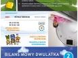 """Ulotka """"Bilans mowy dwulatka"""" str. zewn.  (VIII OKL 2012)"""