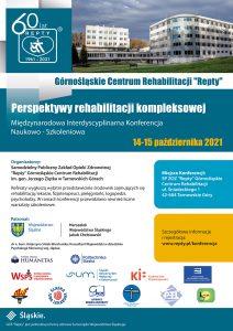 Konferencja Perspektywy Rehabilitacji kompleksowej-plakat